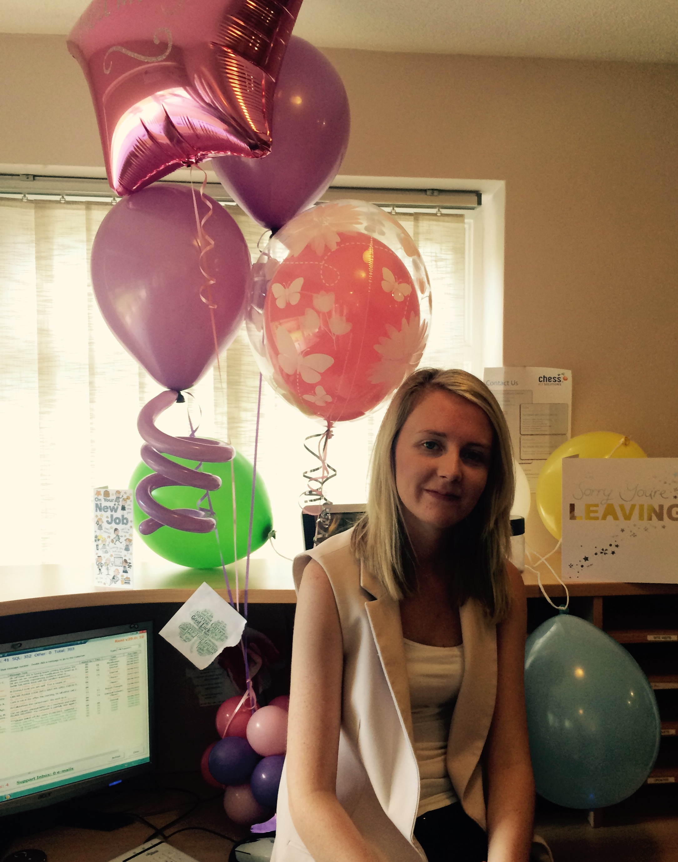 We'd like to say thank you and goodbye to Emma Kerin