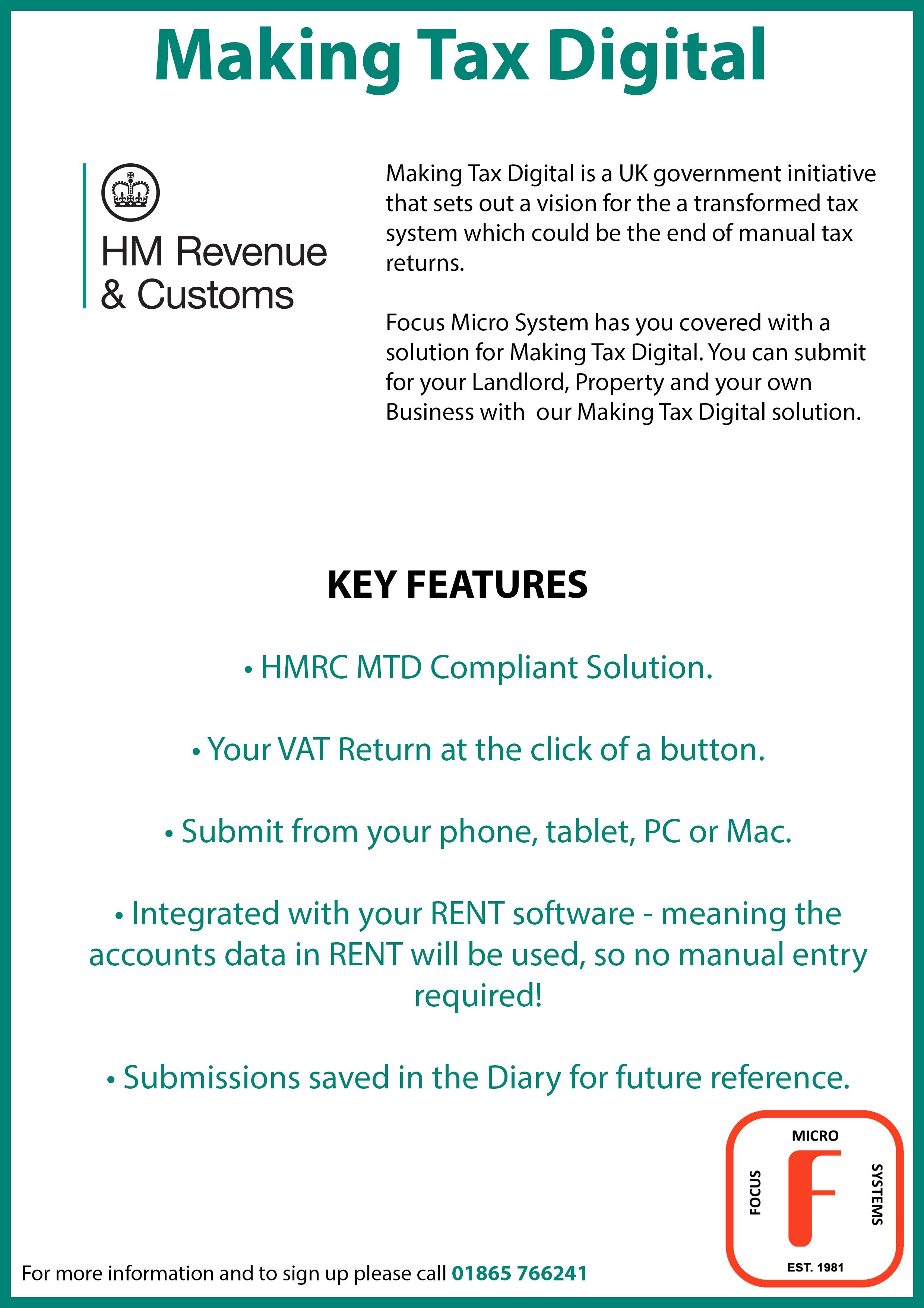 Making Tax Digital 2021